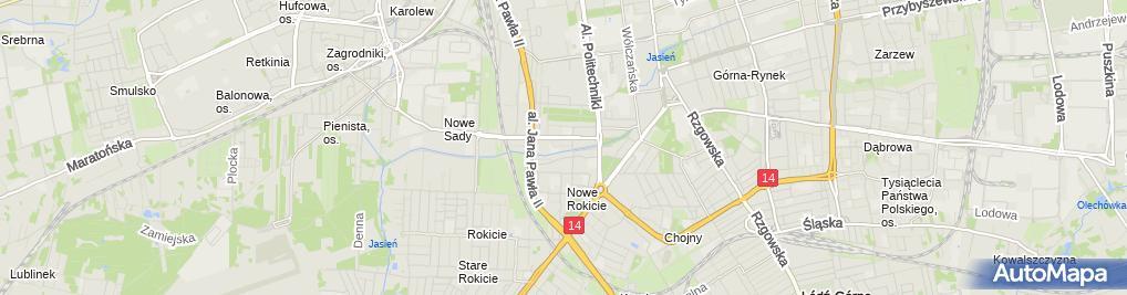 Zdjęcie satelitarne Next Electro