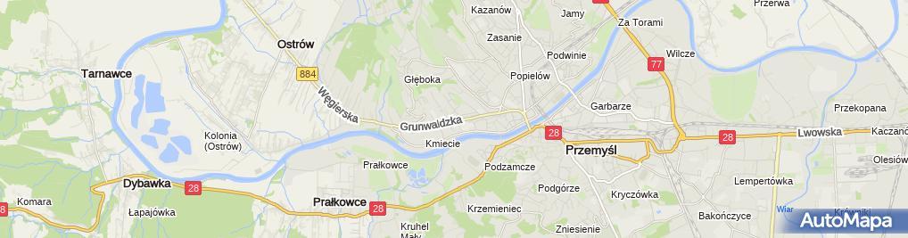 Zdjęcie satelitarne Niepubliczny Zakład Opieki Zdrowotnej Gammed Monika Hanasiewicz Ryszard Sarzyński
