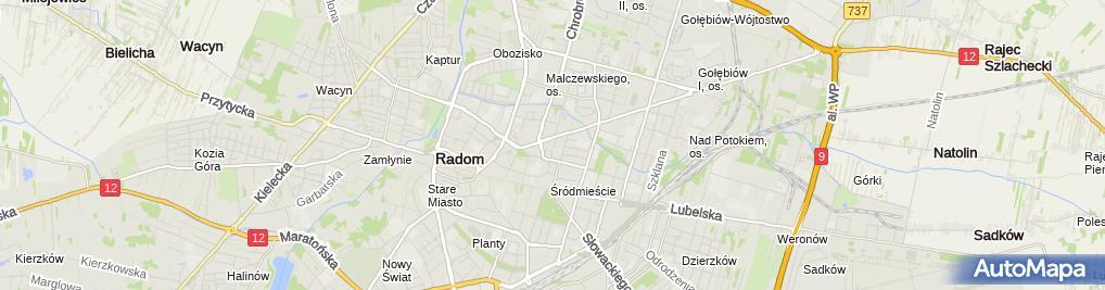 Zdjęcie satelitarne Niepubliczny Zakład Opieki Zdrowotnej Śródmieście 1