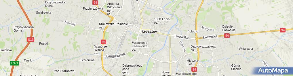 Zdjęcie satelitarne Nizio Grzegorz, Zakład Techniki Biurowej Biurox-Bis Grzegorz Nizio Nazwa Skrócona: Zakład Techniki Biurowej Biurox-Bis