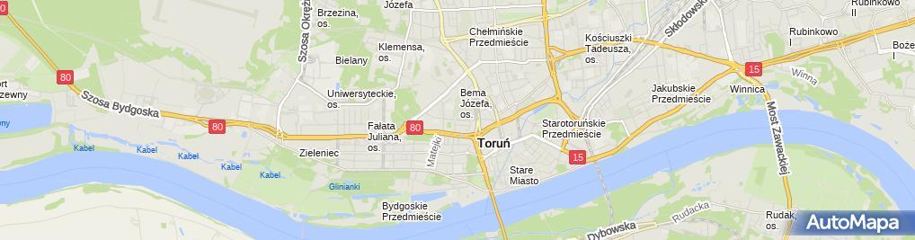 Zdjęcie satelitarne Nova Handel - Transport - Usługi Łukasz Szczygielski