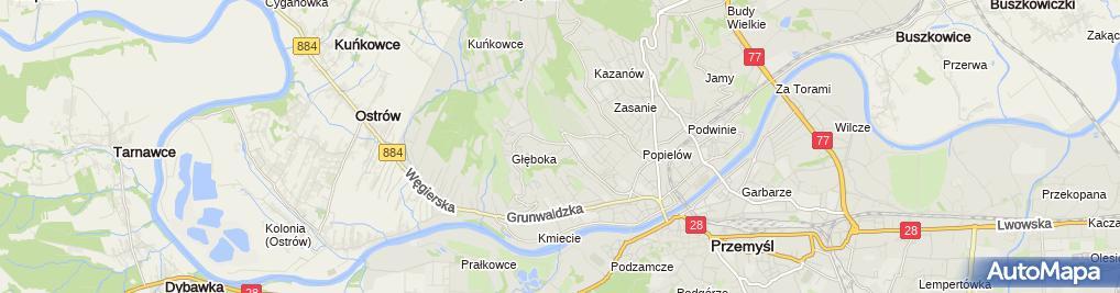 Zdjęcie satelitarne Nowbud Tomasz Kowalik