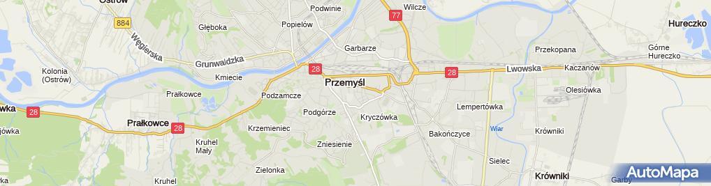 Zdjęcie satelitarne Nowoczesna Edukacja Podkarpacie Filip Ciepałowicz