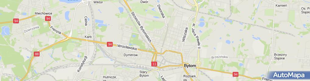 Zdjęcie satelitarne NZOZ Zespół Medyczno Opiekuńczy Abimed Ilona Pławecka Beata Szymaniak