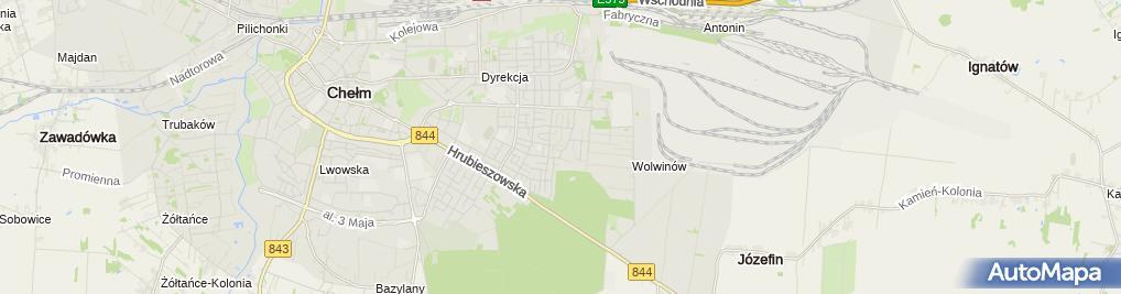 Zdjęcie satelitarne Ognisko Towarzystwa Krzewienia Kultury Fizycznej Olimpia