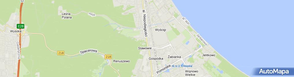 Zdjęcie satelitarne Ogród Zdrowia