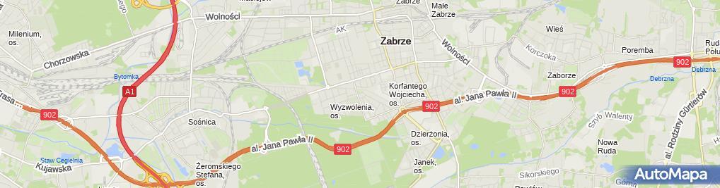 Zdjęcie satelitarne Ol Ka Katarzyna Potrykus Krzysztof Majer