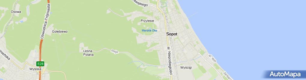 Zdjęcie satelitarne Ol Sport Serwis