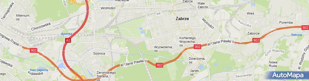 Zdjęcie satelitarne Olgierd Nowakowski Budowa, Renowacja i Naprawa Organów.