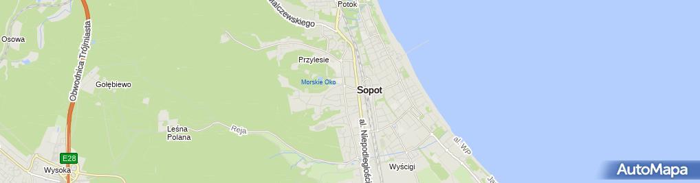 Zdjęcie satelitarne Olimpia Group