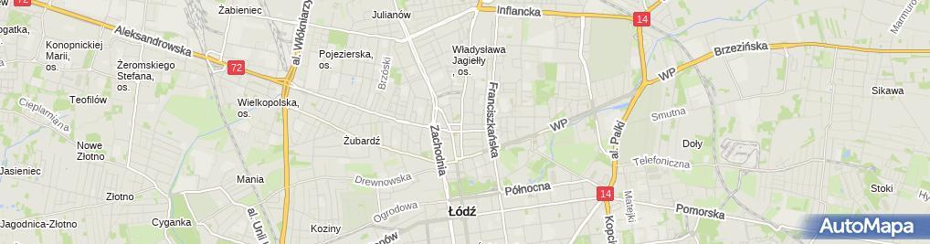 Zdjęcie satelitarne Ośrodek Psychoterapii i Edukacji Dorosłych