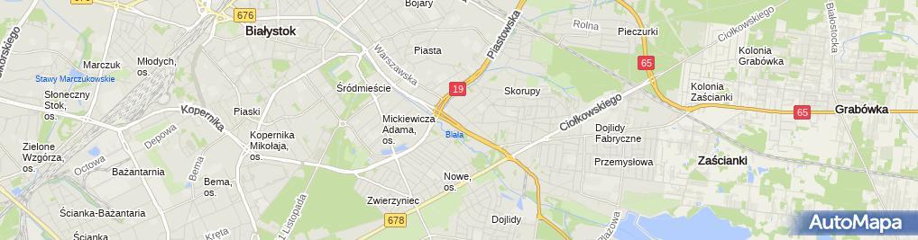Zdjęcie satelitarne P&B P.B. Sańczyk S.C.