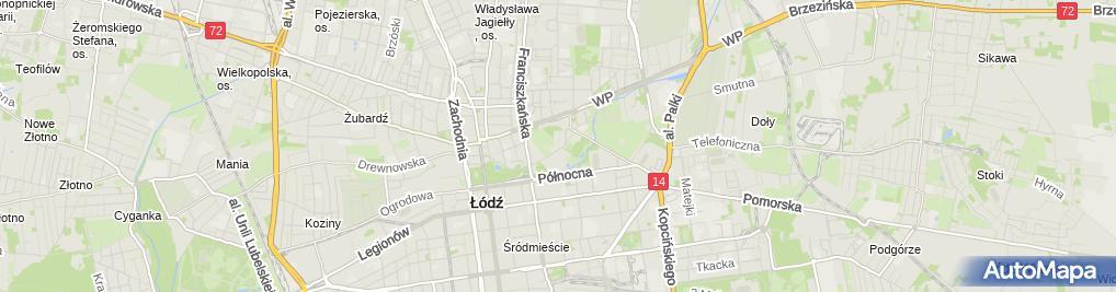 Zdjęcie satelitarne P.H.P.U.Warto Stanisław Kościński