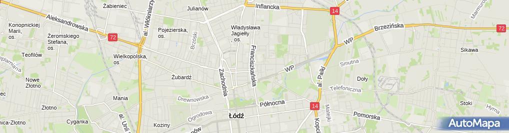 Zdjęcie satelitarne P.H.U Ciechomex - Łukasz Ciechomski