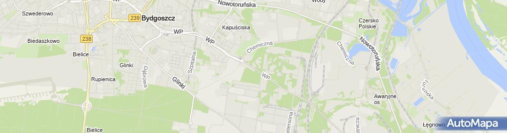 Zdjęcie satelitarne P.H.U.Metpo Adam Podraza