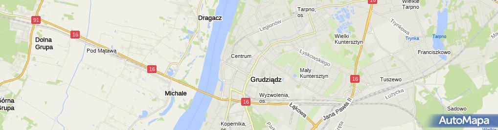 Zdjęcie satelitarne P.H.U.Profit Mateusz Gawrział Wspólnik Spółki Cywilnej
