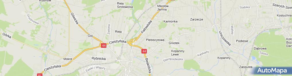 Zdjęcie satelitarne P.H.U.Teresa Rusek