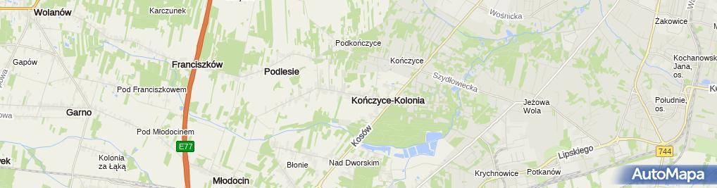 Zdjęcie satelitarne P.P.H.U.Irmex Śmiech Ireneusz