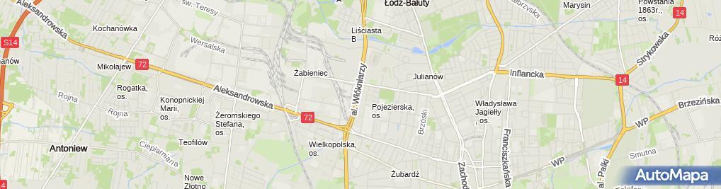 Zdjęcie satelitarne P.P.H.U.Tkacz Krzysztof Tracz