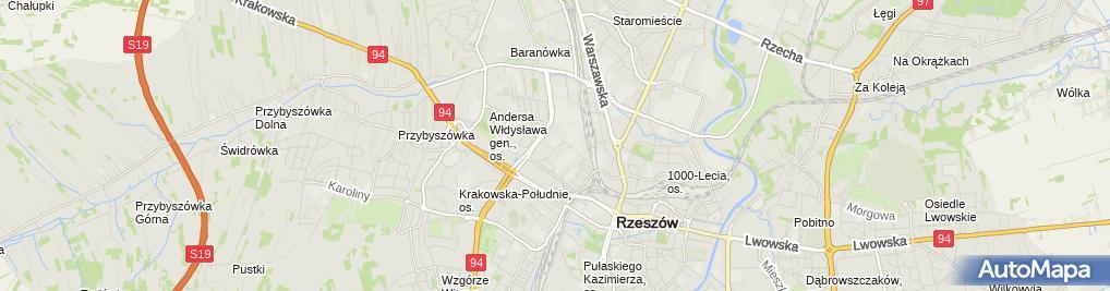 Zdjęcie satelitarne P.P.H.U.Winomet Wiesław Nowoświat