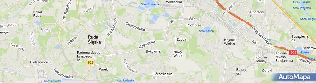 Zdjęcie satelitarne P.U.H.Elektroinstal