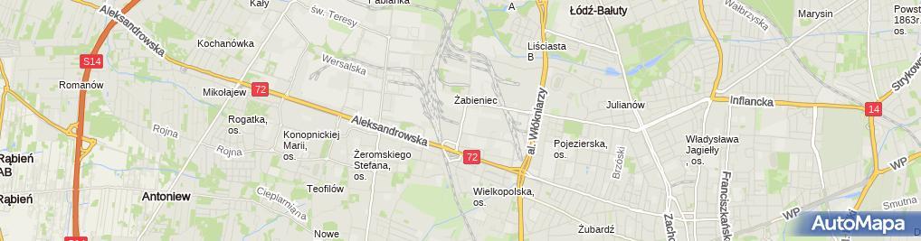Zdjęcie satelitarne Pada Puszek Dariusz Mikołajczyk Paweł Urbański