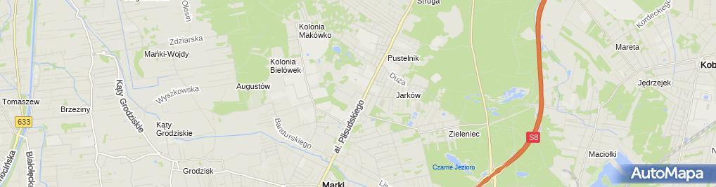 Zdjęcie satelitarne Pan Jacek i Turystyka Zalewski Jacek