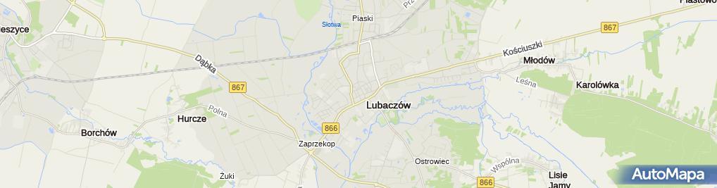 Zdjęcie satelitarne Państwowa Szkoła Muzyczna i Stopnia im Krzysztofa Komedy w Lubaczowie