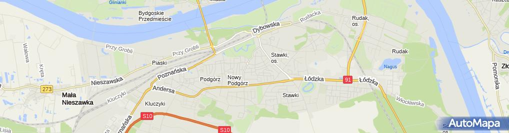 Zdjęcie satelitarne Parafia Rzym.-Kat.pw.Niepokalanego Poczęcia Najświętszej Maryii Panny