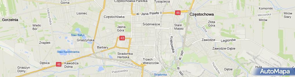 Zdjęcie satelitarne Paragon Software Poland