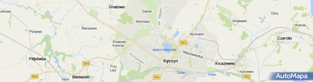 Zdjęcie satelitarne Paragraf Biuro Doradztwa Prawno-Administracyjnego Mirosław Bałdyga, Monika Ławrynowicz