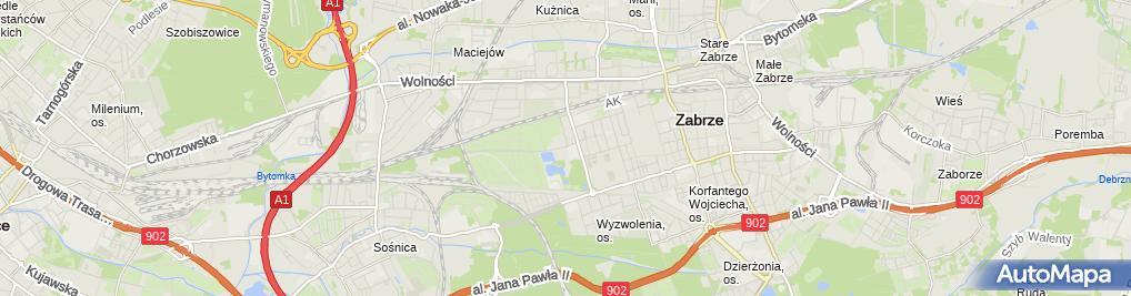 Zdjęcie satelitarne Paramedyk 78Krzysztof Słupianek