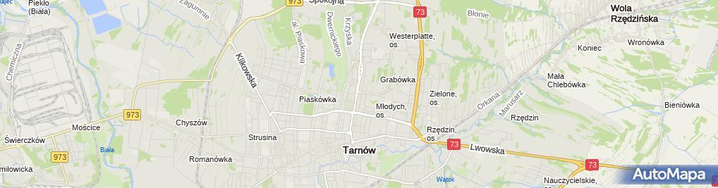 Zdjęcie satelitarne Part-Centrum Ubezpieczeń Tadeusz Partyka