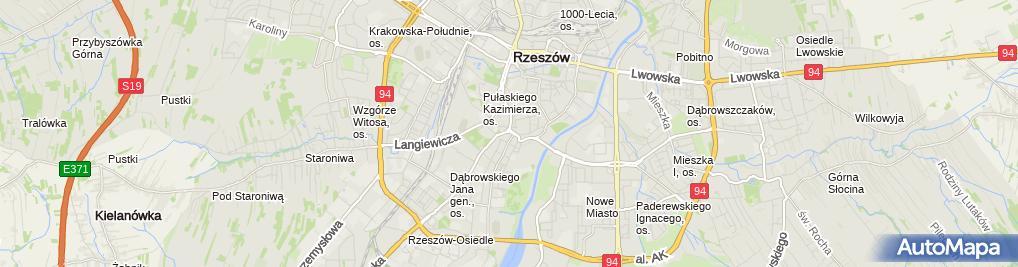 Zdjęcie satelitarne Paśkiewicz Rafał, Aquateam Rafał Paśkiewicz