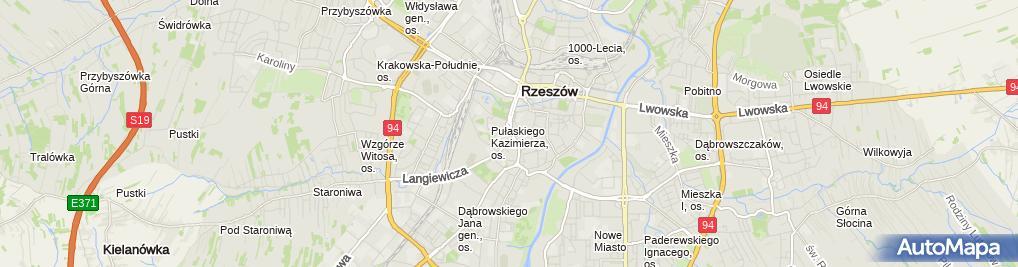 Zdjęcie satelitarne Pasmanteria Lila Lilianna Grzebyk Szczepan Grzebyk