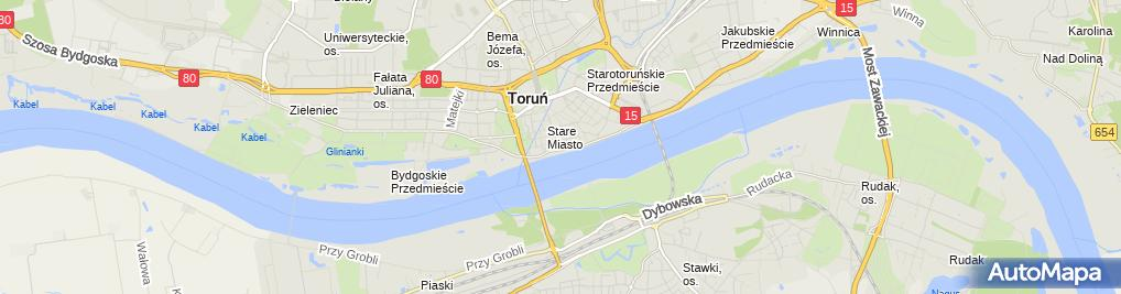 Zdjęcie satelitarne Patryk Rubiecki Kominiarz Firma Handlowo-Usługowa