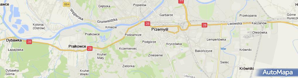 Zdjęcie satelitarne Paweł Domka Progaz