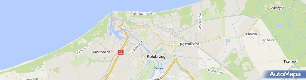 Zdjęcie satelitarne Paweł Modrzejewski - Działalność Gospodarcza