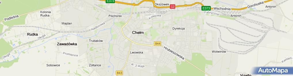 Zdjęcie satelitarne Paweł Oleszczuk