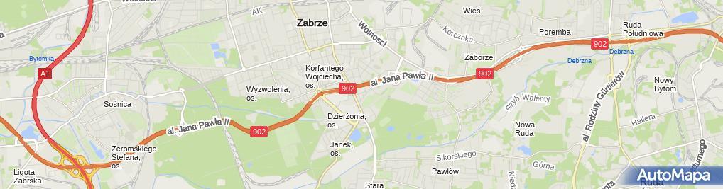 Zdjęcie satelitarne Paweł Szeląg