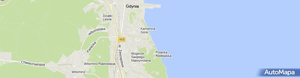 Zdjęcie satelitarne Pawilon Handlowy Wielobranżowy