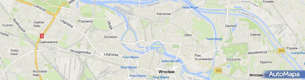 Zdjęcie satelitarne Pawlik M., Wrocław