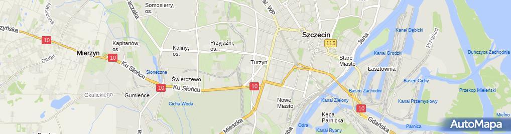 Zdjęcie satelitarne Pawo-But.Arkadiusz Paweł Dziędziela