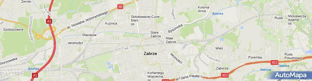 Zdjęcie satelitarne Paznokietkowo Anna Kazimierczuk, Michał Janikowski