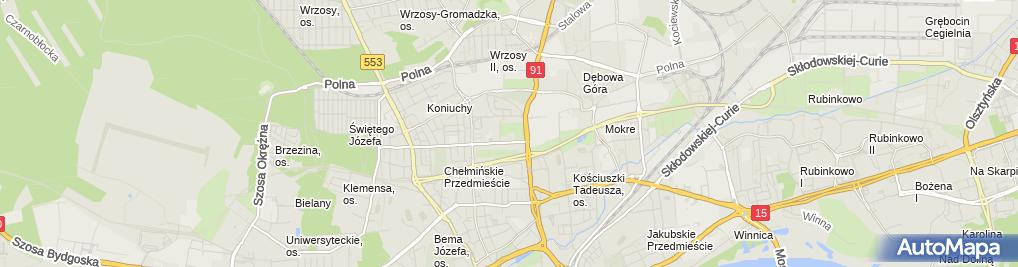"""Zdjęcie satelitarne """"Pestka"""" Marzena Karpińska"""