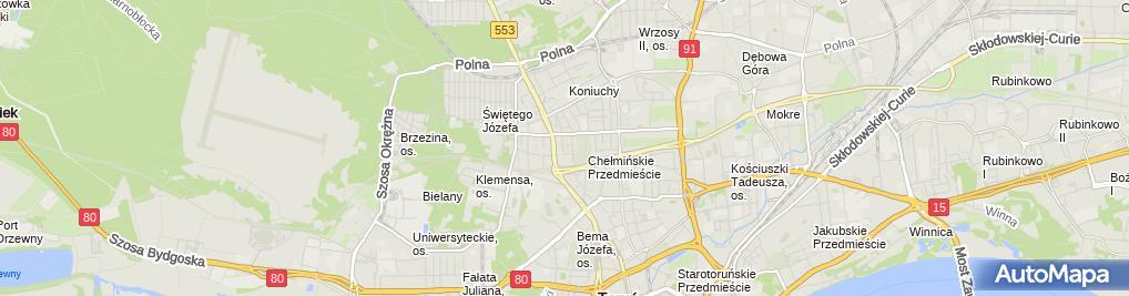 Zdjęcie satelitarne Peszyński Paweł Peon Polska Firma Inwestycyjno Wykonawcza