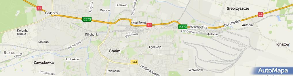 Zdjęcie satelitarne PHU Autoland Rolewicz Ireneusz i Rolewicz Stanisława