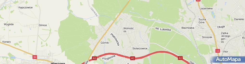 Zdjęcie satelitarne PHU Profi-Car Łukasz Janyga