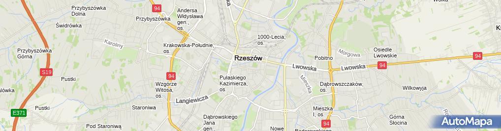 Zdjęcie satelitarne Piekarnia Deptuch Zofia i S Ka Deptuch Zofia Iwachowska Halina Tyrakowska Marta