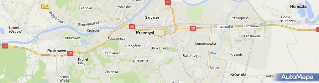 Zdjęcie satelitarne Piotr Baryła